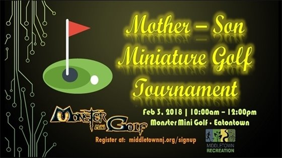 Mother Son Miniature Golf Tournament